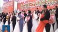 哈尔滨第34届冰雪集体婚礼举行