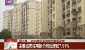 主要城市住宅地价同比增长7.91%