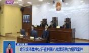 哈尔滨市集中公开宣判第八批黑恶势力犯罪案件