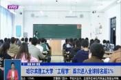 """哈尔滨理工大学""""工程学""""首次进入全球排名前1%"""
