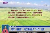 """筑牢""""压舱石""""  龙江粮食生产""""十六""""连丰"""