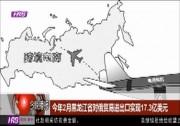 今年2月黑龙江省对俄贸易进出口实现17.3亿美元