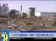 《2019产业项目巡礼》 哈南37个重点大项目开复工过半