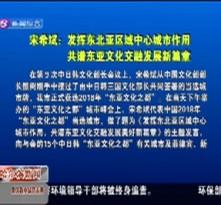 宋希斌  发挥东北亚区域中心城市作用 共谱东亚文化交融发展新篇章