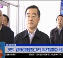 张庆伟:坚持创新引领培强育壮主导产业 深化改革提高林区人民生活水平
