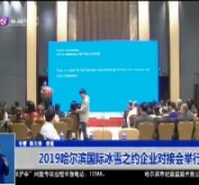 2019哈尔滨国际冰雪之约企业对接会举行