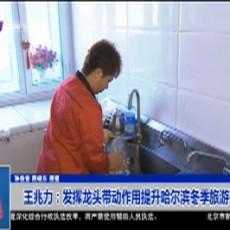 王兆力:发挥龙头带动作用提升哈尔滨冬季旅游影响力