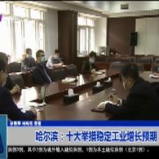 哈尔滨:十大举措稳定工业增长预期