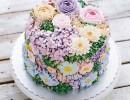 世界各地糕点师制作花朵蛋糕 繁花似锦迎春天