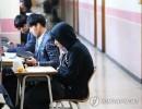高三女生备战高考吃避孕药 各种补品成韩国考生必备