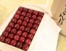 日本高级樱桃拍出一斤1.7万元高价 一颗合250元