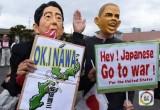 日本民众集会反对奥巴马访问广岛