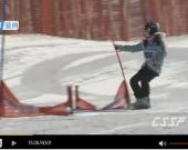 中国滑雪精英赛11日下半部分