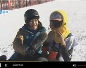 中国滑雪精英赛12日上半部分