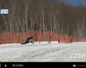 中国滑雪精英赛12日下半部分