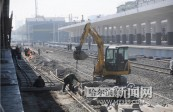哈东站改造本月末完工
