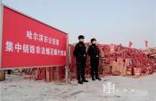 哈尔滨警方集中销毁非法烟花爆竹5000余件