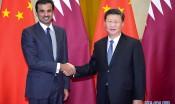 习近平举行仪式欢迎卡塔尔国埃米尔访华并同其举行会谈