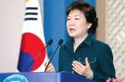 朴槿惠寄语韩国儿童:为你们健康成长加油
