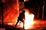 希腊爆发大规模示威抗议奥巴马到访(高清组图)