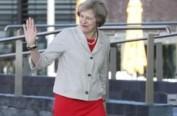 英首相行程表被忘在火车内 首相府展开内部调查