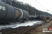 法国列车发生脱轨 20公吨乙醇遭洒落