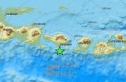 印尼巴厘岛海域发生6.4级地震 震感强未引发海啸