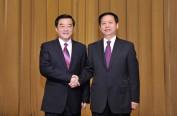 省委召开全省领导干部会议 宣布中央关于省委主要领导职务变动决定