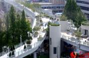 """首尔首个高架步行街""""首尔路7017""""即将开放"""