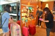 访日游客激增 日本美容院推出行李寄存新业务
