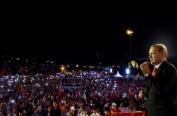 土耳其未遂政变一周年 埃尔多安誓言查幕后黑手
