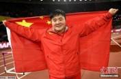 中国首金! 伦敦田径世锦赛巩立姣女子铅球夺冠