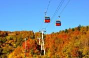 北海道札幌国际滑雪场举办秋祭旅游活动