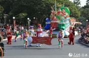 东京迪士尼乐园圣诞主题特别活动带游客领略梦幻体验