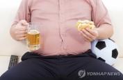 韩国男性肥胖率首超40% 健康亮红灯