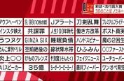 2017年日本新语及流行语大奖 30个词语入围