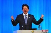 日本首相安倍发表新年感言 期待成为改革实行之年
