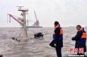 上海吴淞口锚地一船沉没 船上3人获救10人仍在搜救