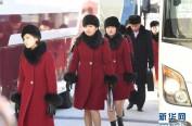抵达韩国的朝鲜艺术团为演出做准备