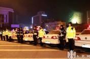新春佳节哈尔滨3100名交警为人民站岗