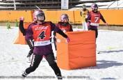 第5届日本打雪仗锦标赛在长野白马举行 力争成为奥运项目