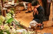 日本为相模湖水库建设中死难的中日等国劳工举行追悼会