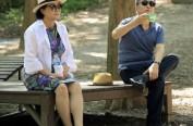 韩国总统度假照公开 文在寅陪夫人去大自然避暑
