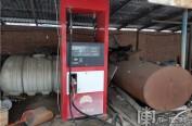 哈尔滨一农家院藏近200吨伪劣汽油 还没销售就被查封