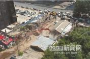 乐松凯旋城商圈19处20余年违建被依法拆除