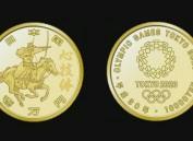 日本公布第一组奥运纪念币图案 将分4次发行