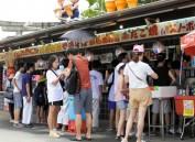 日本老妪在大阪城经营小吃摊三年 逃税1.3亿日元