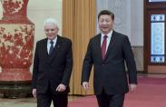 시진핑 주석, 세르지오 마타렐라 이탈리아 대통령과 회담
