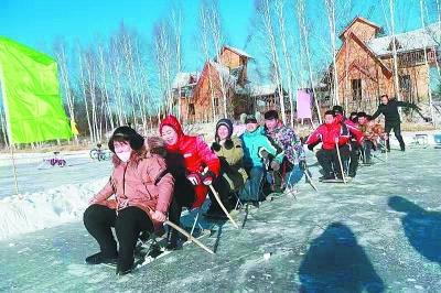 黑龙江漠河:神州北极的火热冬季