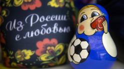 """2018俄罗斯世界杯套娃纪念品化身足球""""宝宝""""呆萌可爱"""